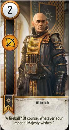 Albrich card