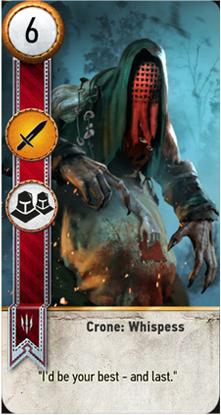 Crone: Whispess card