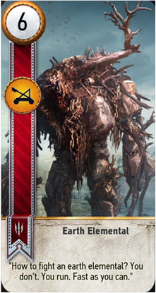 Earth Elemental card