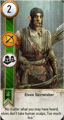 Elven Skirmisher card