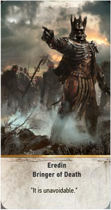 Eredin Bringer of Death card