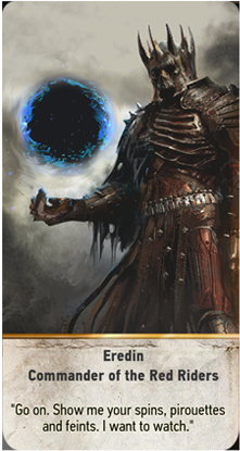 Eredin Commander of the Red Riders card