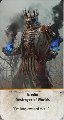 Eredin Destroyer of Worlds card