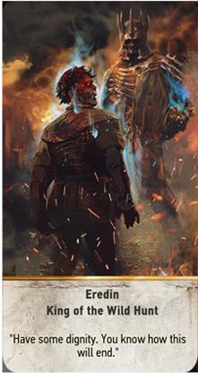 Eredin King of the Wild Hunt card