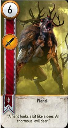 Fiend card