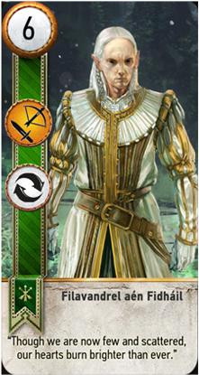 Filavandrel card