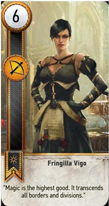 Fringilla Vigo card