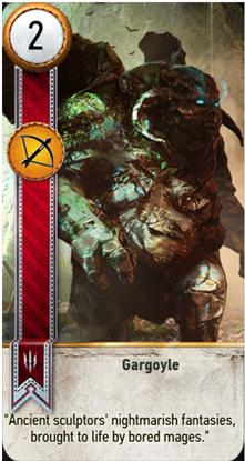 Gargoyle card