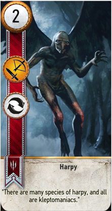 Harpy card