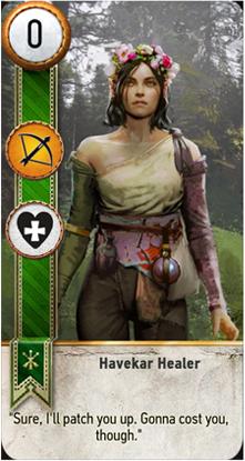Havekar Healer card