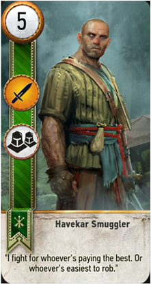 Havekar Smuggler card