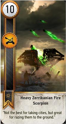 Heavy Zerrikanian Fire Scorpion card