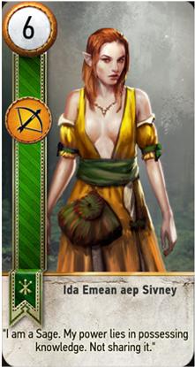 Ida Emean card