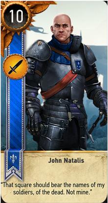 John Natalis card
