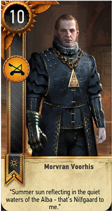 Morvran Voorhis card