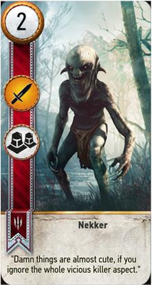 Nekker card