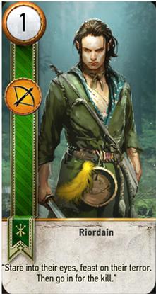 Riordain card