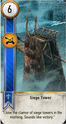 Siege Tower card