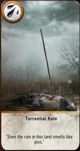 Torrential Rain card