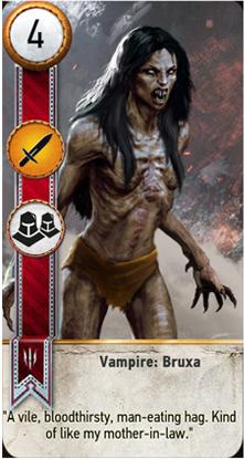 Vampire: Bruxa card