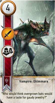 Vampire: Ekimmara card