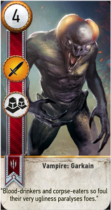 Vampire: Garkain card