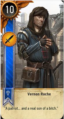 Vernon Roche card