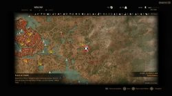 Witcher 3 Vegelbud Residence Place of Power Map