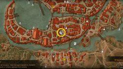 Witcher 3 Hattori Master Blacksmith Location