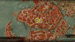 Witcher 3 Hierarch Square Armorer Location