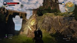Witcher 3 Velen Place of Power in Lornruk