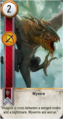 Wyvern card