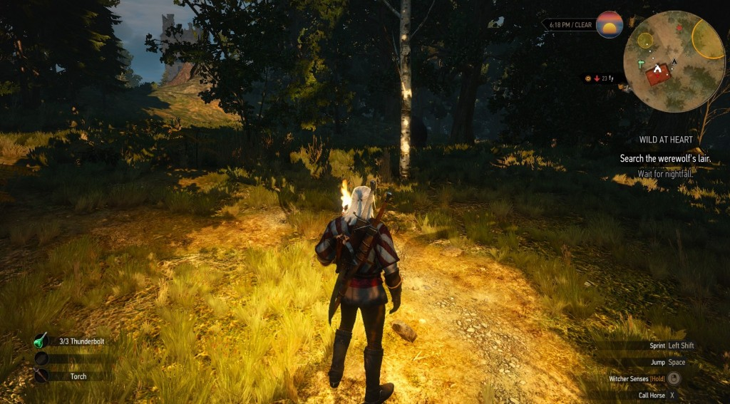 how to rebind keys in the witcher 3