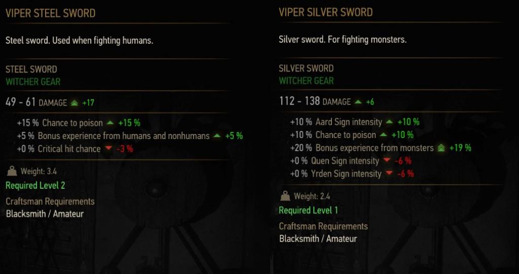 viper silver sword