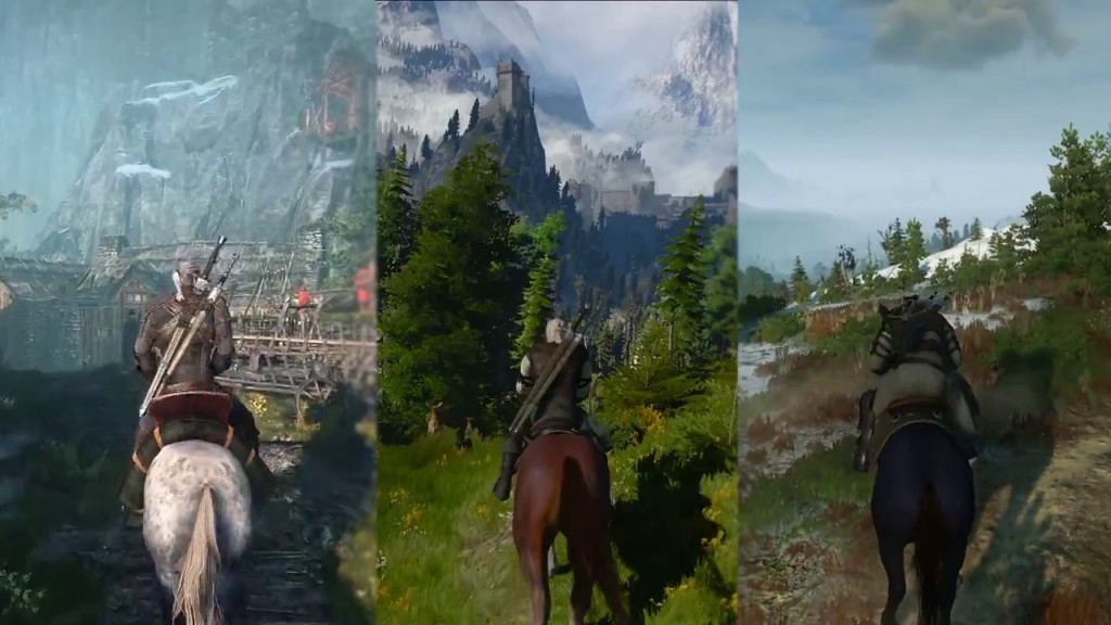 witcher 3 different horses