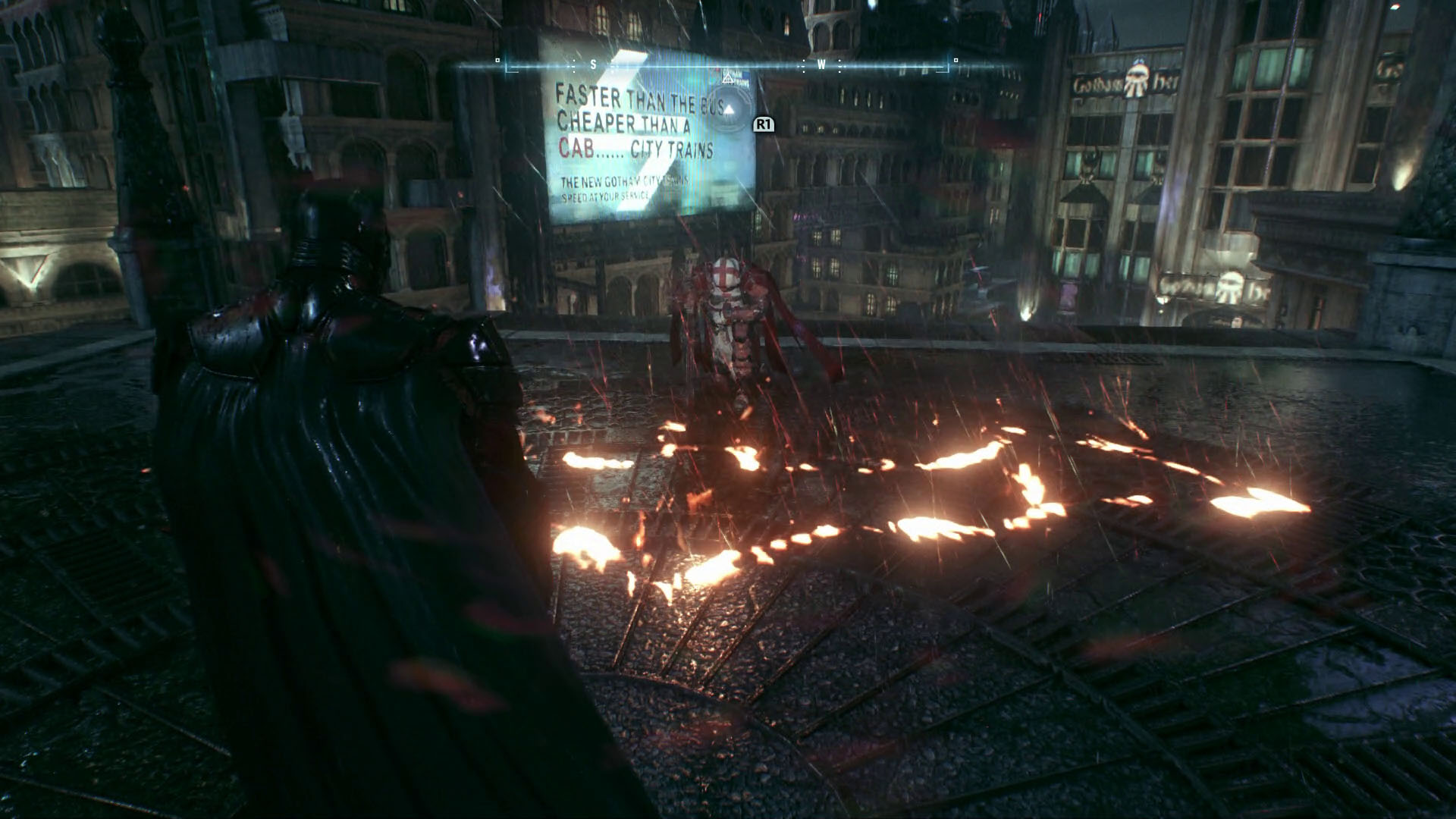 Batman Arkham Knight Heir to the Cowl