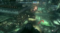 Bleake Island Riddler Victim Batman Arkham Knight