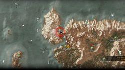 Witcher 3 Location of Skellige Crossbow Vendor