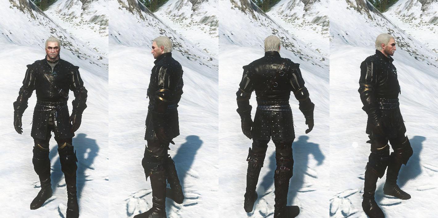 Nilfgaardian Armor Set DLC   The Witcher 3