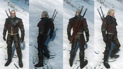 Witcher 3 Superior Wolf School Gear Look