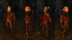 Witcher 3 Superior Wolven School Gear Look