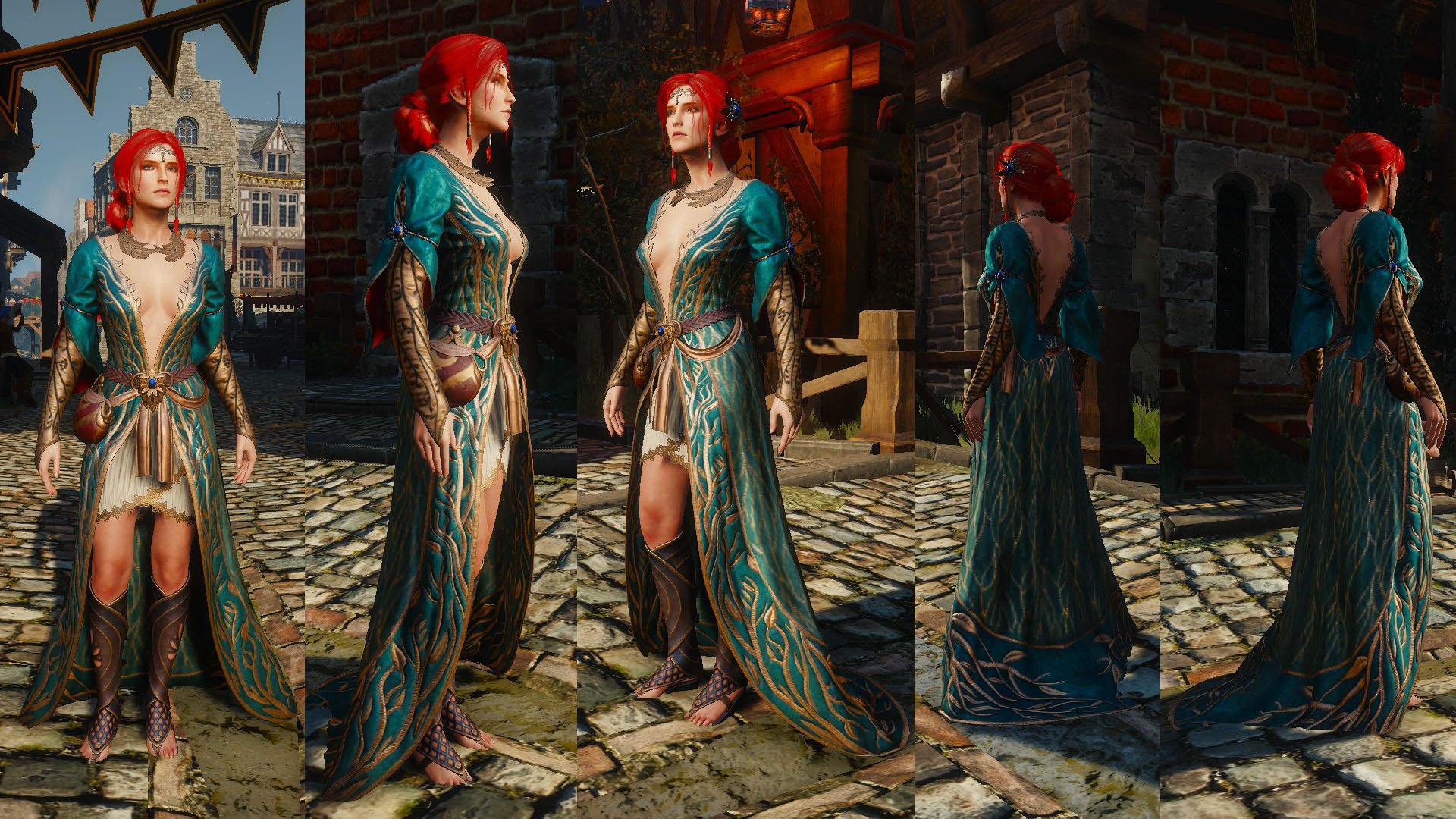 Alternative Look For Triss | The Witcher 3