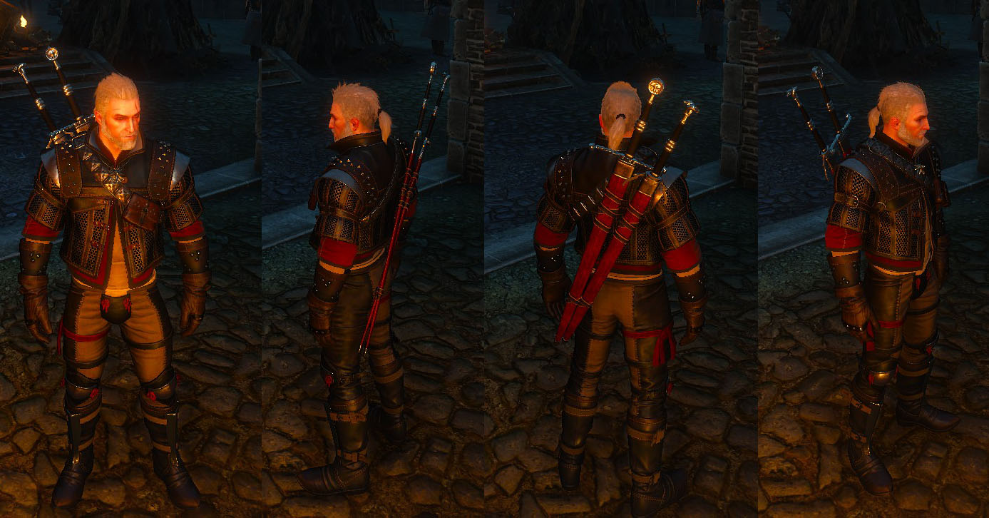 Mastercrafted Wolf Gear The Witcher 3