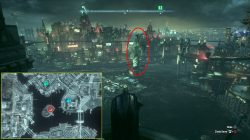 arkham knight bleake island statue riddle