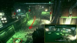 arkham knight miagani island puzzle trophy solution