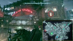 arkham knight militia emblem map location