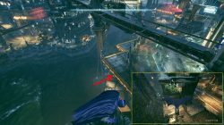 Arkham Knight Riddler Trophies Founders' Island map