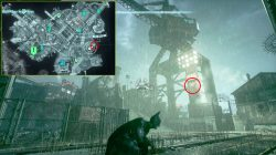 gotham city militia shields map locations
