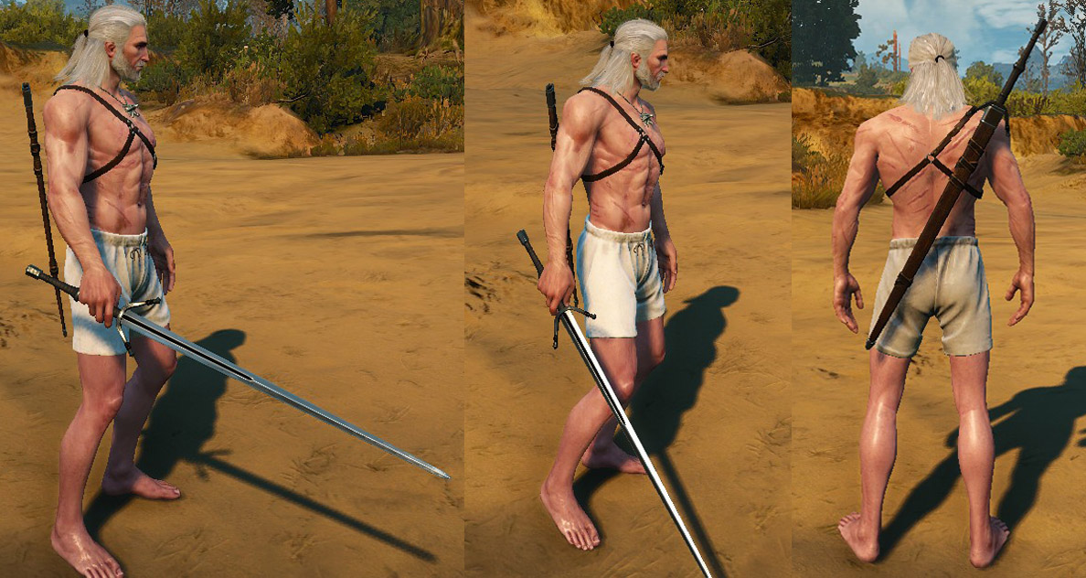 Weeper Relic Silver Sword | The Witcher 3