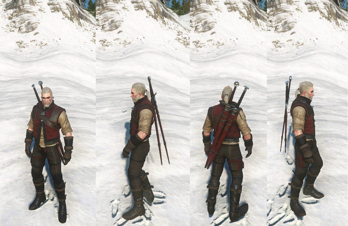 Witcher 3 Armor Wolf School Gear